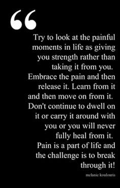 Not all pain can be healed, but old emotional pain can be sorted ...