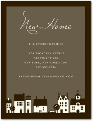 ... housewarming party invite . They offer a charming, antique style that