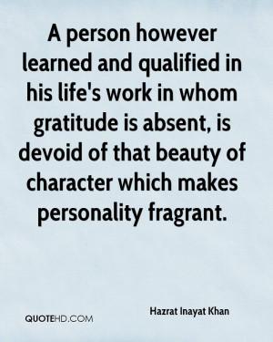 Hazrat Inayat Khan Work Quotes