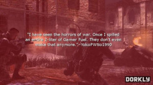 Call of Duty Death Quotes – As Written By Real Call of Duty Players
