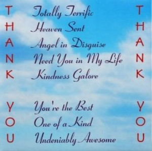Small Thank You Gift to Send with Thank You Cards - Thank You Fridge ...