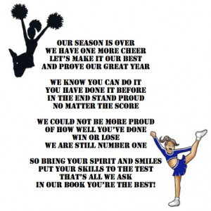 To all the Saltsburg elementary cheerleaders we will always be champs ...