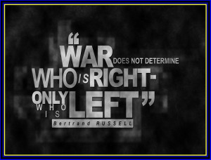 Posts related to anti war quotes famous