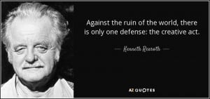 Kenneth Rexroth Quotes