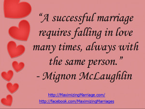 On Success in Marriage (Part 2)