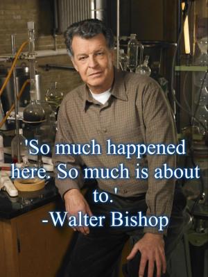 Fringe, Dr. Walter Bishop, lab rat, quote citat, tv series, show ...