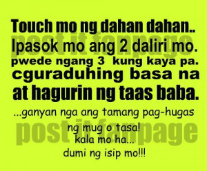 Pinoy Funny Jokes And Tagalog Quotes Boy Banat