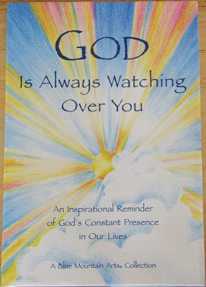 God-The creator God is watching us.