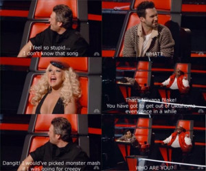 the voice, funny quotes, blake shelton