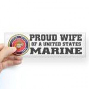 proud Marine wife! OohRah!!!