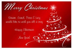 Christmas Greeting Sayings