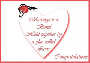 Wedding Congratulations Quotes