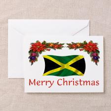 Jamaica Merry Christmas 2 Greeting Cards (Pk of 10 for