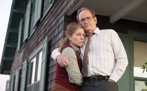 Frances McDormand and Richard Jenkins in the HBO miniseries, Olive ...