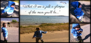 Raising My Son: Mother to Son Quote for Wordless Wednesday