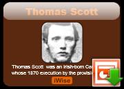Execution Thomas Scott
