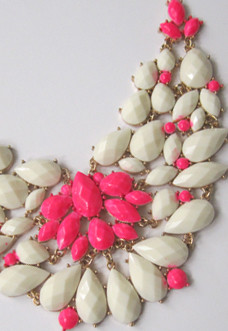 DIY: Neon Necklace Need to jazz up a boring dress? Want a new look? Or ...