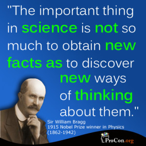 Thing In Science Is Not A Much To Obtain New Facts As To Discover New ...