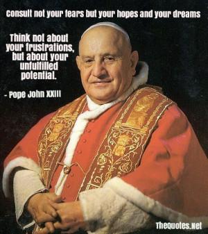 Pope John XXIII Quotes