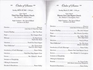 Black Church Anniversary Programs. Pastor Appreciation Day Themes ...