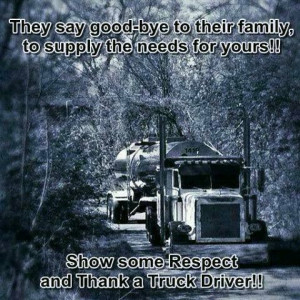 Thank a truck driver! www.onpointtruckeragency.com