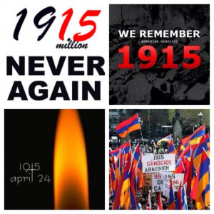 Never forget the Armenian Genocide!