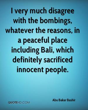 Abu Bakar Bashir Quotes