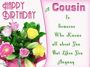 Happy Birthday Quotes for Boy Cousin