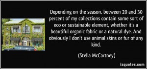 More Stella McCartney Quotes