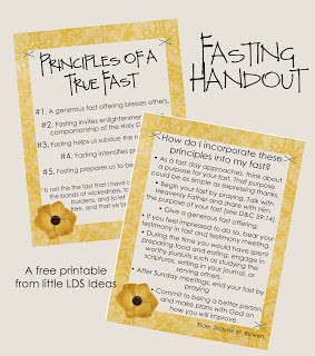 Click Here to Print my Fasting Handout