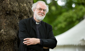 Rowan Williams tells 'persecuted' western Christians to grow up