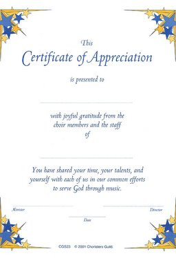 certificate of appreciation verses for certificate of appreciation ...
