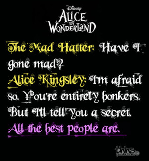 Alice in Wonderland Quote by thehardheadedsavior Disney Quotes Alice ...
