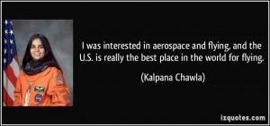 More Kalpana Chawla Quotes