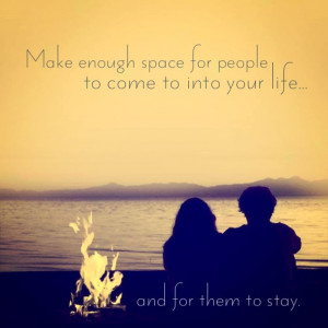 Priority, love, people, space, quote