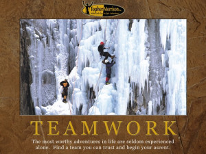 ... Experienced Alone. Find A Team You Can Trust And Begin Your Ascent