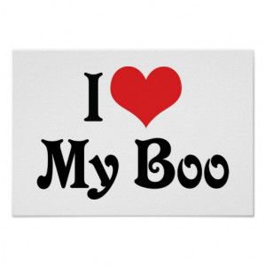 Love My Boo Poster