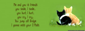 Quote facebook cover, Friendship Quote facebook timeline cover ...