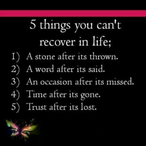 things you can't change