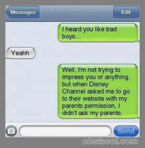 Funny Quotes   heard you like bad boys   Funny Pictures, Funny ...