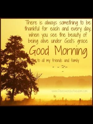 Good Morning! HAPPY MONDAY!