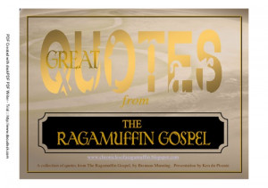 Great Quotes from the Ragamuffin Gospel screenshot