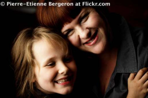 Mother And Daughter Laughing Together Inspiration Messages