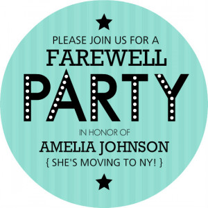 ... .comGoing Away Party Invitations, Farewell Party Invitations