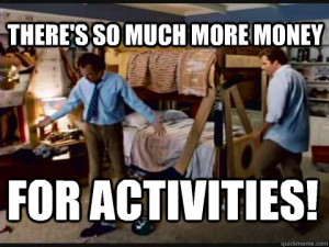 Room for Activities Step Brothers