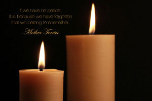 Candles with Quotes