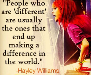 Hayley Williams Quotes On Life Hayley williams quote