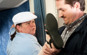MELISSA MCCARTHY & HUSBAND BEN FALCONE IN
