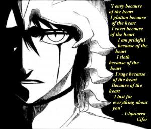 ulquiorra's poem by animegoddess411