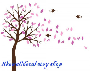 blossom_leaves_tree_falling_leaf_autumn_trees_art_decals_wall_sticker ...
